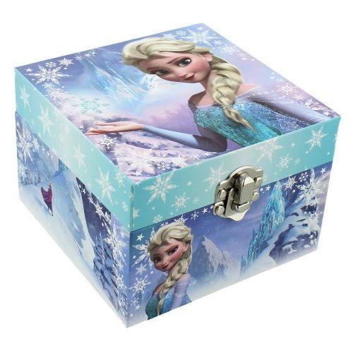 "Disney's Frozen Musical ""Elsa"" Pale Blue Children's Jewellery Box"